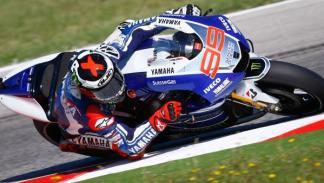 Jorge Lorenzo, en el Gran Premio de San Marino.