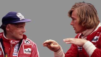 Película Rush Lauda y Hunt