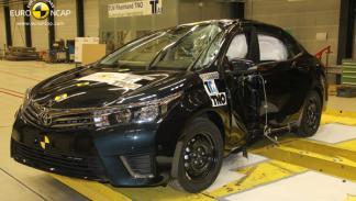 Crash test EuroNCAP del Mazda6, impacto lateral