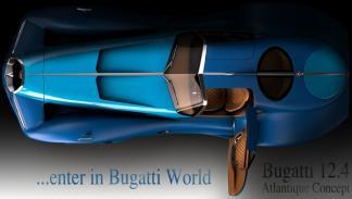 Bugatti 12.4 Atlantique Concept aérea