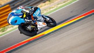 Maverick Viñales, en el GP de Aragón de Moto3