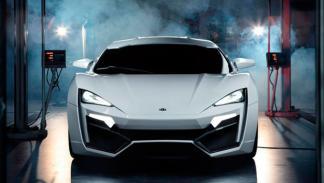 W Motors Lykan Hypersport frontal