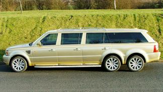 Range Rover 6 ruedas