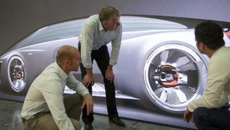 Los diseñadores del Audi Fleet Shuttle Quattro