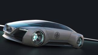 El coche que conduce Harrison Ford