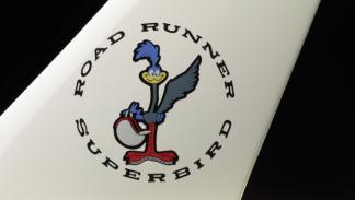 El Plymouth Road Runner Superbird hace honor a su nombre
