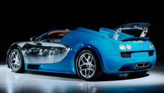Bugatti Veyron Meo Costantini trasera