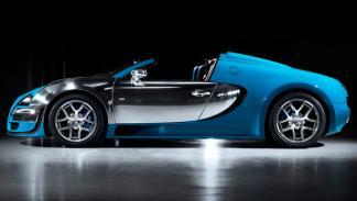 Bugatti Veyron Meo Costantini lateral