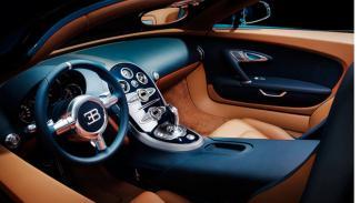 Bugatti Veyron Meo Costantini interior