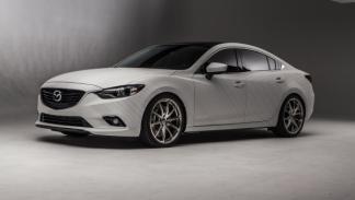 "El Mazda Ceramic 6 Concept lleva llantas Rays Volk Racing Original G25 de 20"""