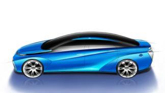 Toyota FCV Concept techo de cristal