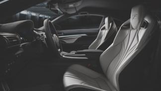 Interior del Lexus RC F que se presentará en el Salón de Detroit