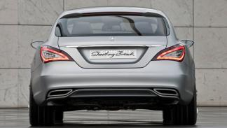 Fotos: Mercedes presenta el Shooting Break, un coupé elevad