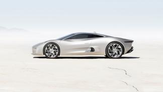 Jaguar C-X75 Concept lateral