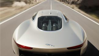 Jaguar C-X75 Concept trasera
