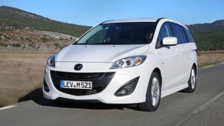 Mazda5 CRTD: El nuevo motor CRTD de 1,6 litros rinde 115 CV