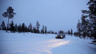 Ferrari FF nieve pruebas tracción integral