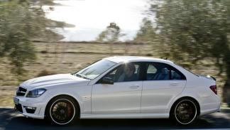 Mercedes C 63 AMG lateral