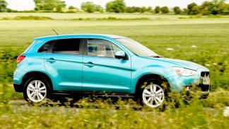 El Mitsubishi ASX ventas enero 2011 SUV