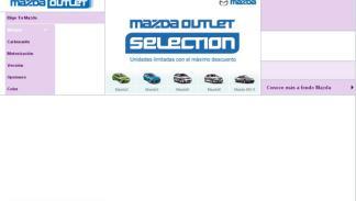 Outlet Mazda descuentos