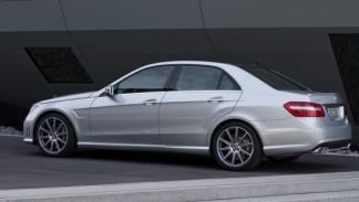 Mercedes Clase E 63 AMG V8 Biturbo lateral