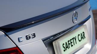 Mercedes C 63 AMG spoiler