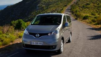 Nissan Evalia delantera