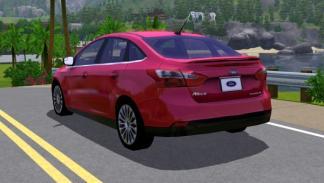 Ford Focus 2012 en The Sims 3