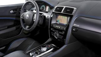 Jaguar XKR-S interior