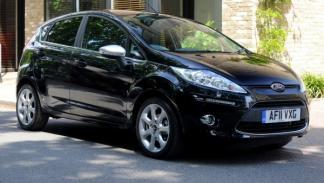 Ford Fiesta Centura lateral