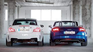 audi-tt-rs-bmw-serie-1-m-coupe-trasera