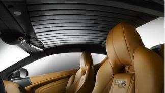 Asientos del Aston Martin DBS Carbon Edition