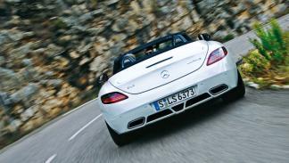 Trasera del Mercedes SLS AMG Roadster