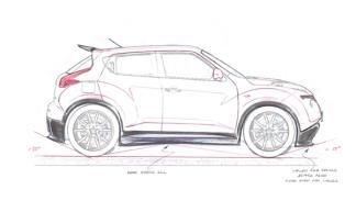 Nissan-Juke-R boceto