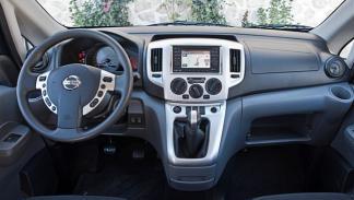 Interior del Nissan Evalia