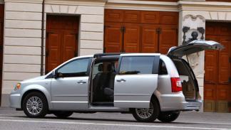 Nuevo Lancia Voyager, modularidad y espacio de carga