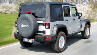 Jeep Wrangler Unlimited 2.8 CRD Rubicon trasera