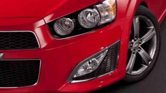 Chevrolet Sonic RS 2013 faro