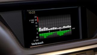 Mercedes E 300 Bluetec Hybrid indicador consumo