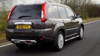 Nissan X-Trail Platinum Edition trasera
