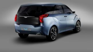 Hyundai Hexa Space Concept trasera
