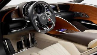 Interior Lexus LF-LC Salón de Detroit 2012