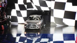 Hyundai Veloster Turbo presentación - Salón de Detroit 2012