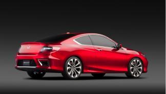 Honda Accord Coupé trasera