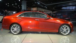 Cadillac ATS Salón de Detroit 2012