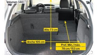 Mazda3 2012 maletero