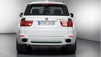 Trasera del BMW X5 M50d