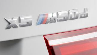 Logotipo del BMW X5 M50d