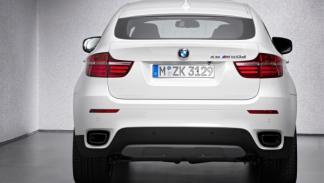 BMW X6 M50d trasera