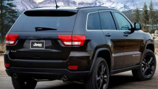 Jeep Grand Cherokee Concept trasera